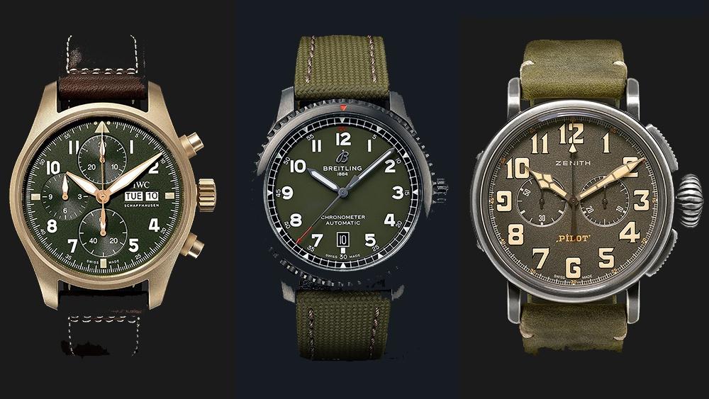 Những mẫu đồng hồ nam theo phong cách quân đội, giá trên 5.000 USD