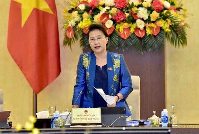 Chủ tịch Quốc hội Nguyễn Thị Kim Ngân nhấn mạnh công tác nhân sự phải kỹ lưỡng, thận trọng, chặt chẽ, đúng quy trình, đảm bảo thủ tục và đạt được sự đồng thuận cao của đại biểu Quốc hội.
