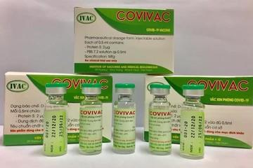 Sáng nay, Việt Nam tiêm thử nghiệm lâm sàng vaccine COVIVAC ngừa Covid-19