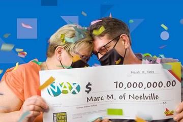 Cặp vợ chồng không tin mình trúng Jackpot 70 triệu USD