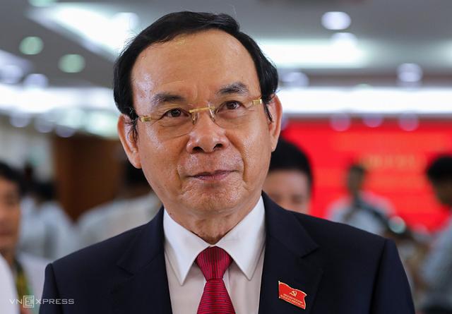 Bí thư Thành ủy TP HCM Nguyễn Văn Nên.