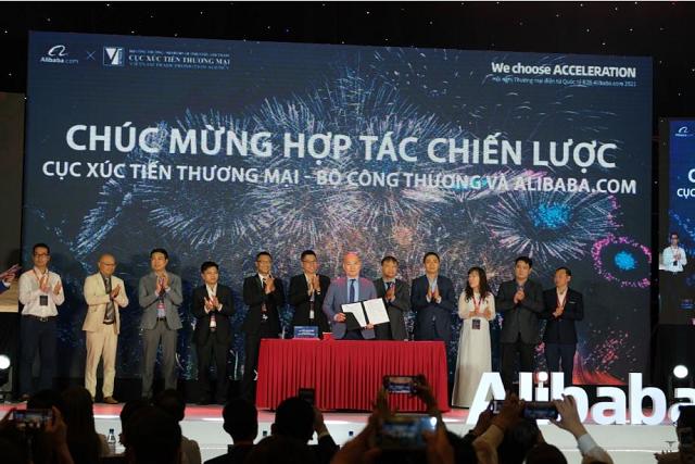 Bộ Công Thương và Alibaba vừa ký kết biên bản ghi nhớ về việc hỗ trợ doanh nghiệp Việt Nam về kỹ thuật và nền tảng để xuất khẩu trực tuyến.