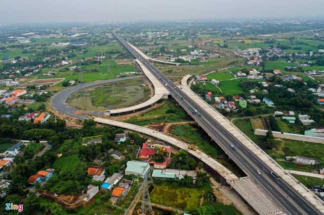 Một dự án giao thông kết nối TP HCM với Long An.