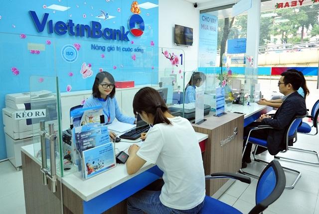 Ngân hàng ước lợi nhuận trước thuế 7.000-8.000 tỷ đồng trong quý I. Ảnh: VietinBank.
