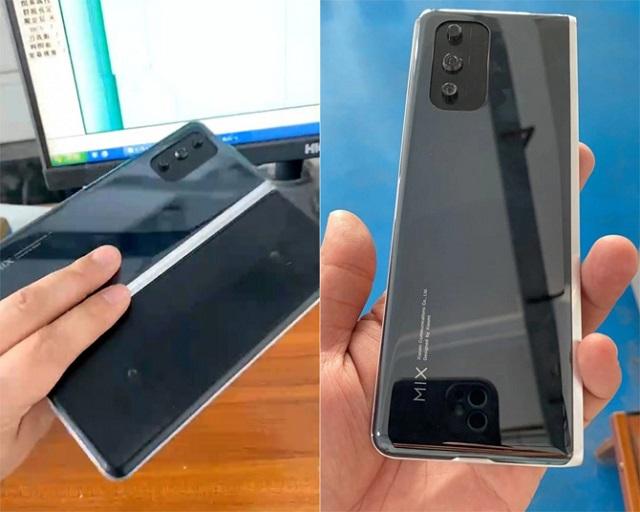 Điện thoại gập như Galaxy Fold của Xiaomi xuất hiện