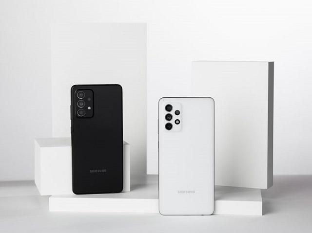 Samsung ra mắt Galaxy A52, A52 5G và A72
