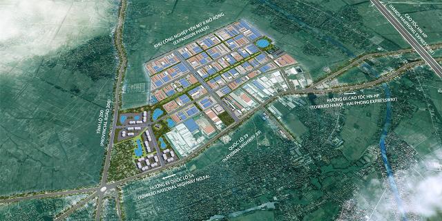 Hòa Phát được giao lập quy hoạch mở rộng KCN Yên Mỹ II thêm 216 ha