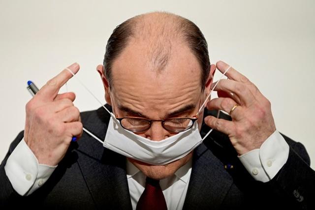 Thủ tướng Pháp Jean Castex. Ảnh: Reuters.