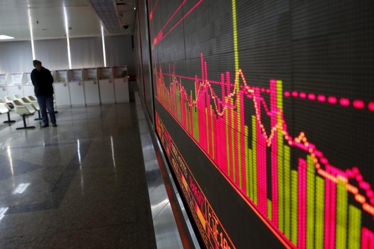 Chứng khoán Trung Quốc có chuỗi tuần giảm dài nhất kể từ năm 2016