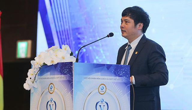 Tân Chủ tịch Hiệp hội Phần mềm và Dịch vụ công nghệ thông tin Việt Nam (Vinasa) Nguyễn Văn Khoa.