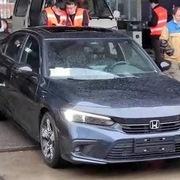 Honda Civic 2022 được đăng kiểm tại Trung Quốc, cận kề ngày ra mắt
