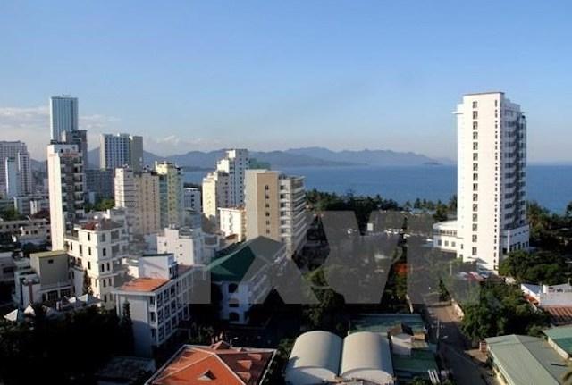 Một góc thành phố Nha Trang.