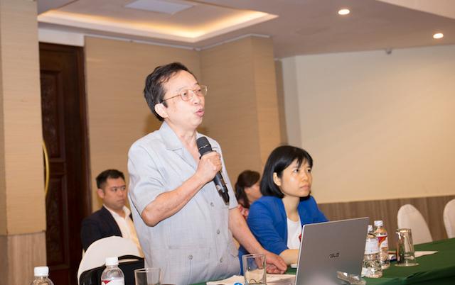 Ông Phạm Xuân Hoè chia sẻ tại hội thảo.