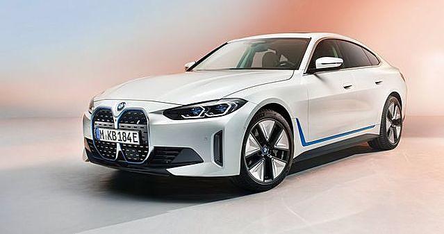 BMW i4 có thiết kế dạng sedan, kích thước tương đương 3-Series