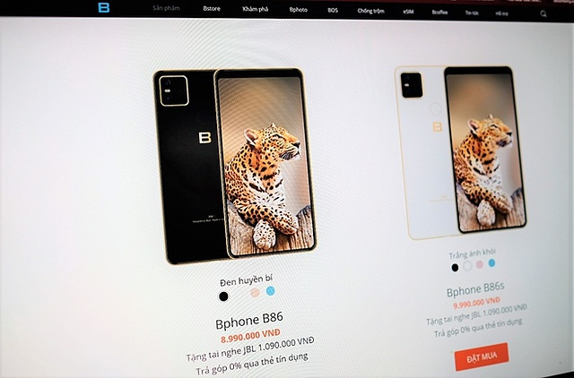 Bphone B60 và B40 biến mất trên website Bkav dù chưa được mở bán.