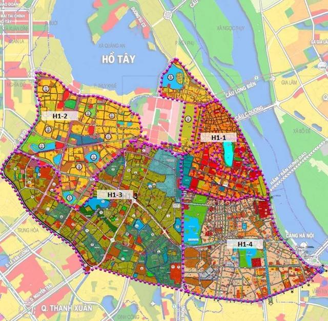 Hôm nay (22/3), Hà Nội công bố Đồ án Quy hoạch phân khu đô thị 4 quận nội đô lịch sử