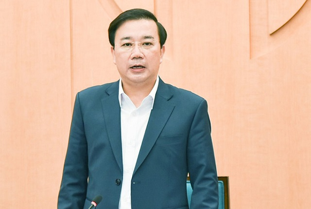 Phó chủ tịch UBND TP Chử Xuân Dũng phát biểu tại họp Ban chỉ đạo phòng.