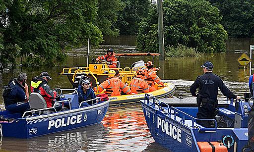 10 triệu dân Australia bị lũ lụt kỷ lục đe dọa