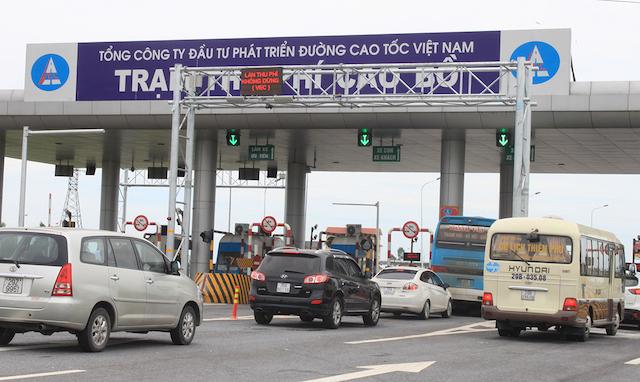 Bộ Giao thông vận tải yêu cầu sớm hoàn thành phương án thu phí cao tốc. Ảnh: VnExpress.
