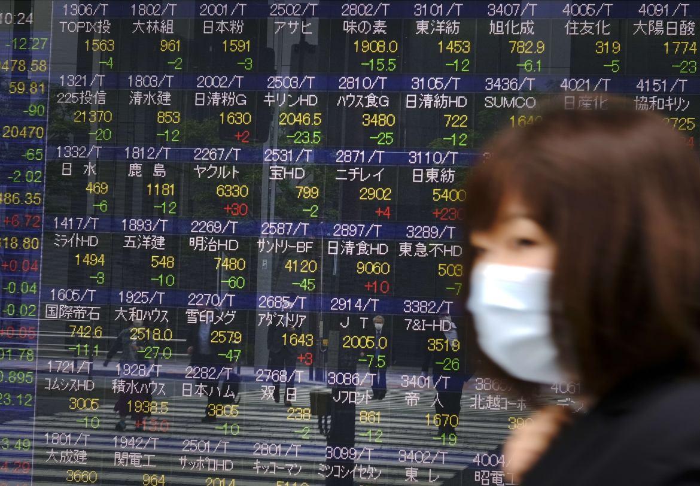 Chứng khoán châu Á trái chiều sau khi cổ phiếu công nghệ bị bán tháo trên Phố Wall
