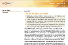 VNDirect: Báo cáo ngành dầu khí - Trên đà hồi phục mạnh mẽ