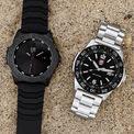 <p> Thiết kế của <strong>Luminox Pacific Diver Watch</strong> có vỏ thép không gỉ với bezels CARBONOX, bộ máy thạch anh do Thụy Sĩ sản xuất và độ chống nước 20 ATM giúp người dùng có thể bơi ở biển, chơi thể thao dưới nước. Nếu thích phong cách phiêu lưu đại dương, bạn có thể mua chiếc đồng hồ này trong mùa hè. Giá bán hiện tại của sản phẩm là 595 USD. Ảnh: <em>watchonista.</em></p>