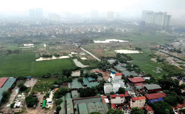Sở Tài nguyên & Môi trường kiến nghị thu hồi 29 dự án 'om' hơn 1.800 ha đất ở Hà Nội