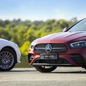 """<p class=""""Normal""""> Ở phiên bản nâng cấp, E300 AMG không còn trang bị cùm phanh AMG như bản tiền nhiệm từng ra mắt Việt Nam. Hãng giải thích do chính sách toàn cầu của Mercedes thay đổi, những trang bị thể thao, hiệu suất cao sẽ dành cho các mẫu AMG thuần túy (AMG 2 số) và nhằm phân biệt với các phiên bản """"phong cách thể thao - AMG Line"""" (AMG 3 số).</p> <p class=""""Normal""""> La-zăng là loại 19 inch 10 chấu trên phiên bản E300 AMG, hệ thống treo hạ thấp hơn 15 mm so với E200 Exclusive (la-zăng 18 inch).</p>"""