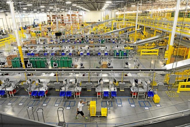 Nhân viên kiện Amazon vì giờ nghỉ trưa ít