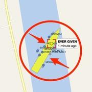 Tàu Ever Given được 'xoay dọc' theo bờ kênh Suez thế nào