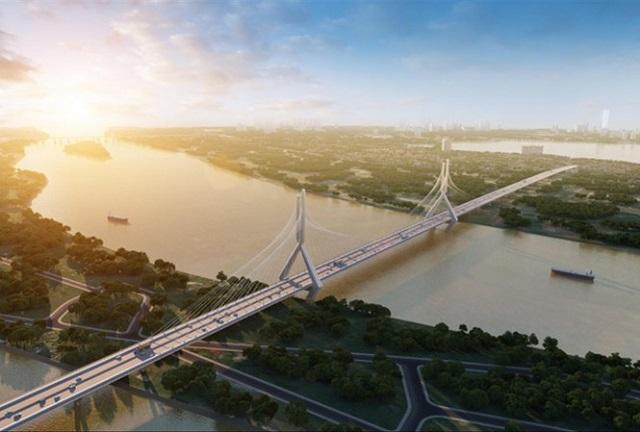 Hà Nội đề xuất chi 26.000 tỷ đồng làm 2 cầu qua sông Hồng