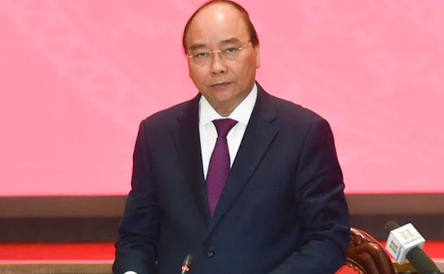 Thủ tướng Nguyễn Xuân Phúc làm việc với UBND thành phố Hà Nội.
