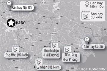 Hà Nội đề nghị nghiên cứu quy hoạch sân bay dân dụng thứ 2
