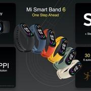 Mi Band 6 ra mắt - giá 35 USD, có tính năng SpO2 như Apple Watch 6