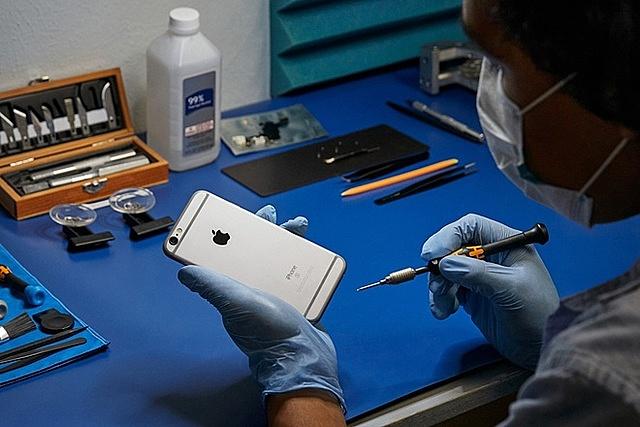 Chương trình Nhà cung cấp sửa chữa độc lập của Apple mở rộng cho hơn 200 quốc gia. Ảnh: Getty.