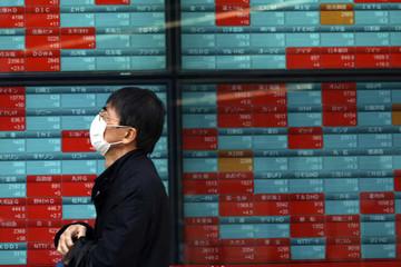 Chứng khoán châu Á hầu hết tăng, tiêu điểm chú ý là cổ phiếu Nomura ở Nhật Bản