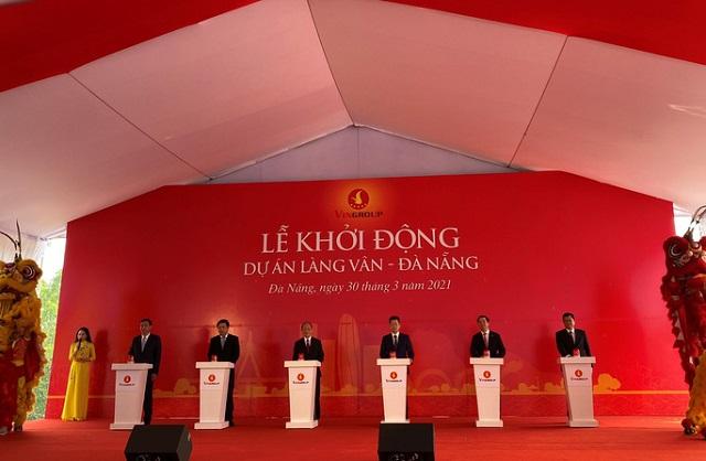 Vingroup khởi động dự án Làng Vân - Đà Nẵng, vốn 35.000 tỷ đồng