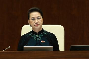 Phê chuẩn miễn nhiệm Chủ tịch Quốc hội Nguyễn Thị Kim Ngân