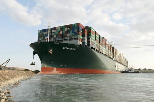 Ai Cập thông báo kế hoạch giải tỏa ùn tắc ở kênh đào Suez