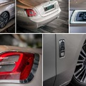 <p> Những đặc điểm quen thuộc của hãng xe siêu sang Anh nay mang thiết kế mới cao cấp và thời trang hơn. Chẳng hạn như đèn LED định vị trước hình chữ C, đèn hậu đa giác có thiết kế nổi khối 3D, cản trước và cản sau tinh chỉnh tạo hình cứng cáp hơn...</p>
