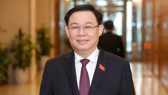 Tân Chủ tịch Quốc hội Vương Đình Huệ.