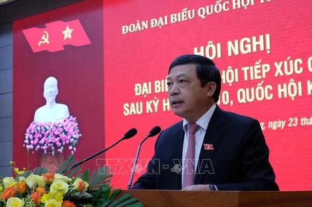 Tân Thứ trưởng Văn hóa, Thể thao & Du lịch Đoàn Văn Việt.