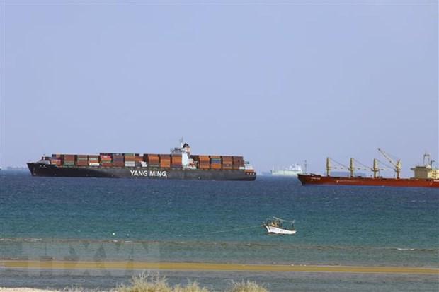 Ai Cập cam kết tránh tái diễn tình trạng đóng cửa kênh đào Suez