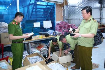 Phá kho hàng giả lớn nhất từ trước đến nay tại Ninh Bình