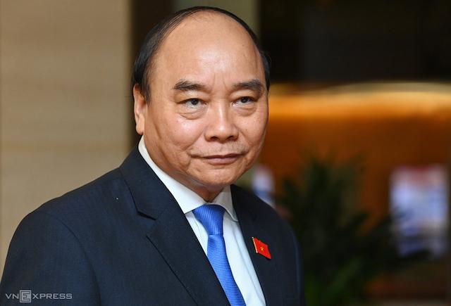 Miễn nhiệm Thủ tướng Nguyễn Xuân Phúc