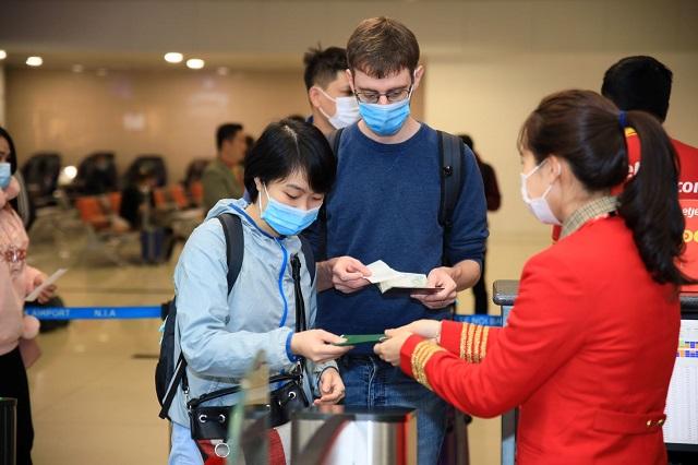 Vietjet khai thác trở lại các đường bay quốc tế