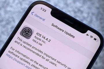 Apple chặn người dùng iOS 14.4.2 hạ cấp xuống iOS 14.4.1