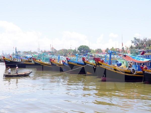 Ngành nông nghiệp nỗ lực thực hiện triển khai lắp đặt thiết bị giám sát hành trình cho các tàu cá trên toàn địa bàn tỉnh. Ảnh: TTXVN