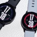 <p> Galaxy Watch Active 2 Under Armour 44 mm bản nhôm đang được bán với giá 6,5 triệu đồng, giảm 2 triệu đồng so với trước. Sản phẩm có mặt tròn, vòng xoay cảm ứng. Thiết bị dùng màn hình 1,4 inch, độ phân giải 360 x 360 pixel. Model này có thể đo nhịp tim, giấc ngủ, stress cùng nhiều bài tập thể thao. Ảnh: Samma.</p>