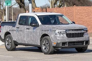 Ford để lộ xe bán tải mới nhỏ hơn Ranger